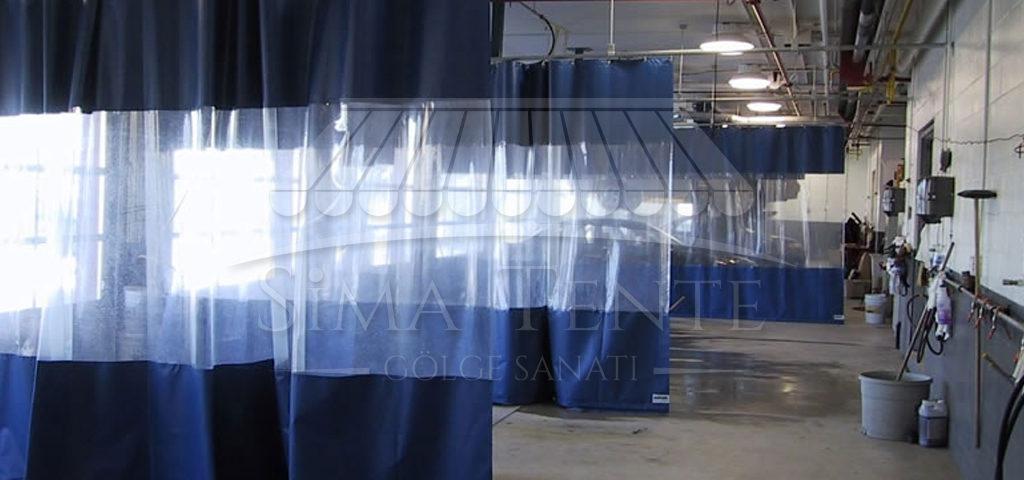 Fabrika Ara Bölme Brandası